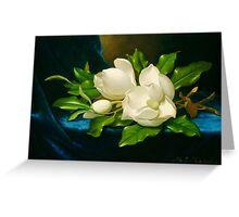 Giant Magnolias Fine Art Greeting Card