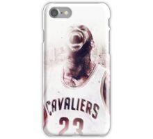 Lebron James Cleveland Basketball Art Finals  iPhone Case/Skin