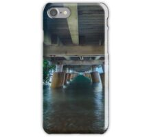 Underneath Wellington Point Jetty, Queensland, Australia iPhone Case/Skin