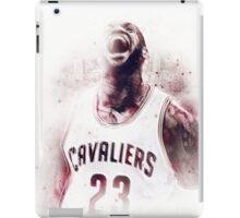 Lebron James Cleveland Basketball Art Finals  iPad Case/Skin