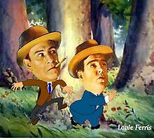 Abbott & Costello by louie ferris