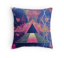 Hollywood/ 80's Dirty Graphics Throw Pillow