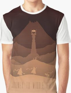 JOURNEY TO MIDDLE-EARTH Graphic T-Shirt