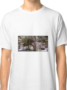 Strength into Futility Artistic and Unique Photograph Decor Classic T-Shirt