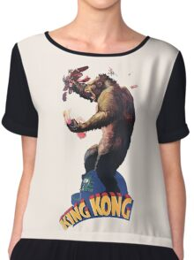 King Kong Retro Chiffon Top