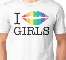 i kiss girls Unisex T-Shirt