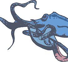 Deep Sea Octopus by Katarina Nice