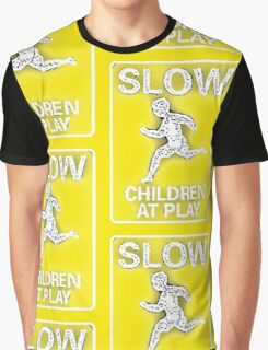 Slow Children at Play Graphic T-Shirt