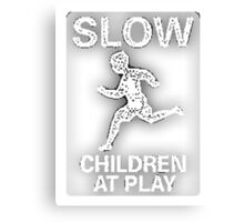 Slow Children at Play Canvas Print