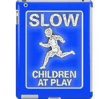Slow Children at Play iPad Case/Skin