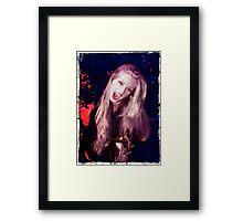 Vamp of the Night Framed Print