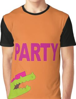 Lee's PARTY gator - Gravity Falls Graphic T-Shirt