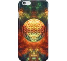 Centered Reality (Flower Of Life) iPhone Case/Skin