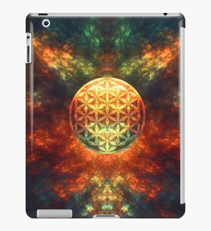 Centered Reality (Flower Of Life) iPad Case/Skin