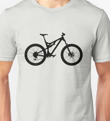 Mountain Bike Bicycle Unisex T-Shirt