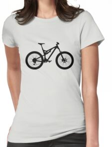 Mountain Bike Bicycle Womens Fitted T-Shirt