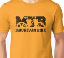 Mountain Bike Vintage MTB Distressed Design Unisex T-Shirt