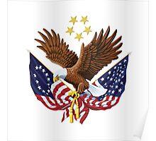 BALD EAGLE- U.S VETERANS Poster