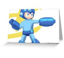 Mega Man Greeting Card