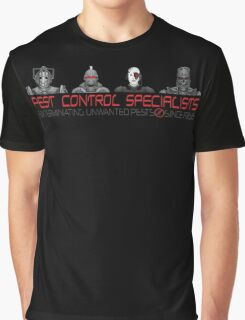 Pest Control Specialists Graphic T-Shirt