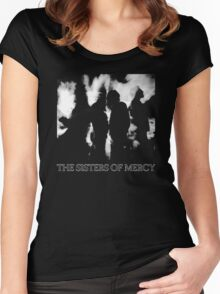 The Sisters Of Mercy - More - The World's End Women's Fitted Scoop T-Shirt