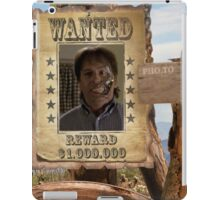 Buffy Ted Wanted 2 iPad Case/Skin