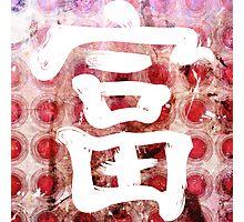 Rich Kanji Photographic Print