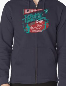 Enchantment Under the Sea Dance Zipped Hoodie