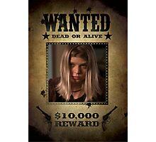 Buffy Tara Wanted 3 Photographic Print