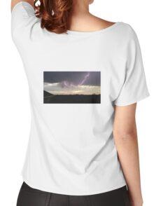 Cloud to Cloud Lightening Women's Relaxed Fit T-Shirt