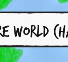 Future World Changer Sticker