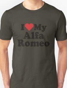 I Heart Love My Alfa Romeo T-Shirt