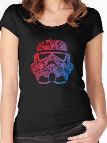 Hippy Retro Trooper Women's Fitted Scoop T-Shirt