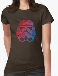 Hippy Retro Trooper Womens Fitted T-Shirt