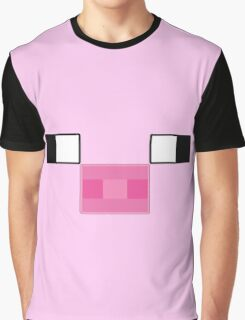 Pixel Piggy Graphic T-Shirt