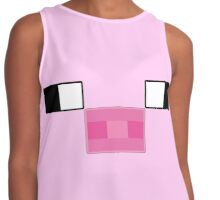 Pixel Piggy Contrast Tank