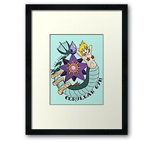 Cerulean Gym Framed Print