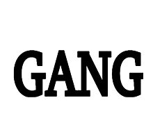 Gang Photographic Print