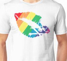 rainbow lips Unisex T-Shirt