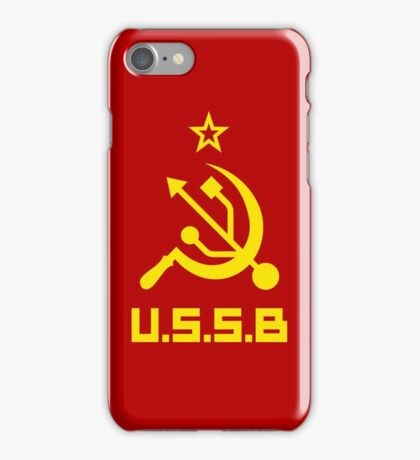USSB - CCCP Plug and play iPhone Case/Skin
