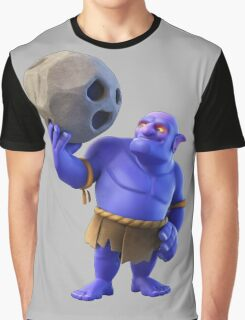 Bowler Clash of Clans Graphic T-Shirt