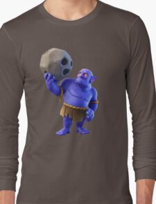 Bowler Clash of Clans Long Sleeve T-Shirt