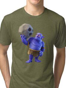 Bowler Clash of Clans Tri-blend T-Shirt