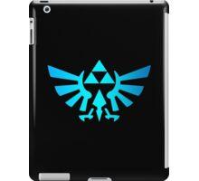 Piramid simbol Triforce blue iPad Case/Skin