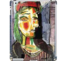 picasso graffiti # 7 iPad Case/Skin