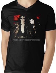 This Corrosion - The Sisters of Mercy - The world's End Mens V-Neck T-Shirt