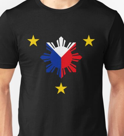 Philippines 3 Sun and a Star Philippine Flag Unisex T-Shirt