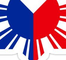 Philippines 3 Sun and a Star Philippine Flag Sticker