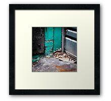 { Corners: where the walls meet #01 } Framed Print