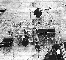 Rooftop 1969 by lewigie